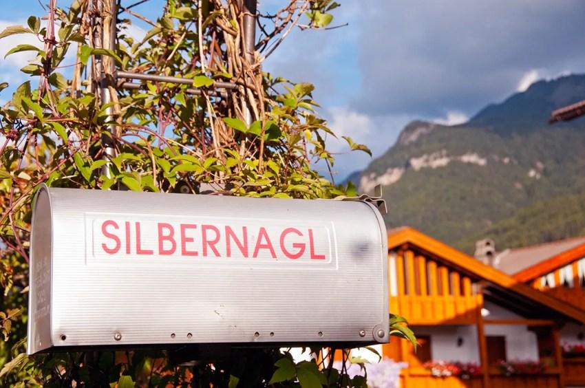 Mailbox at Garni Silbernagl