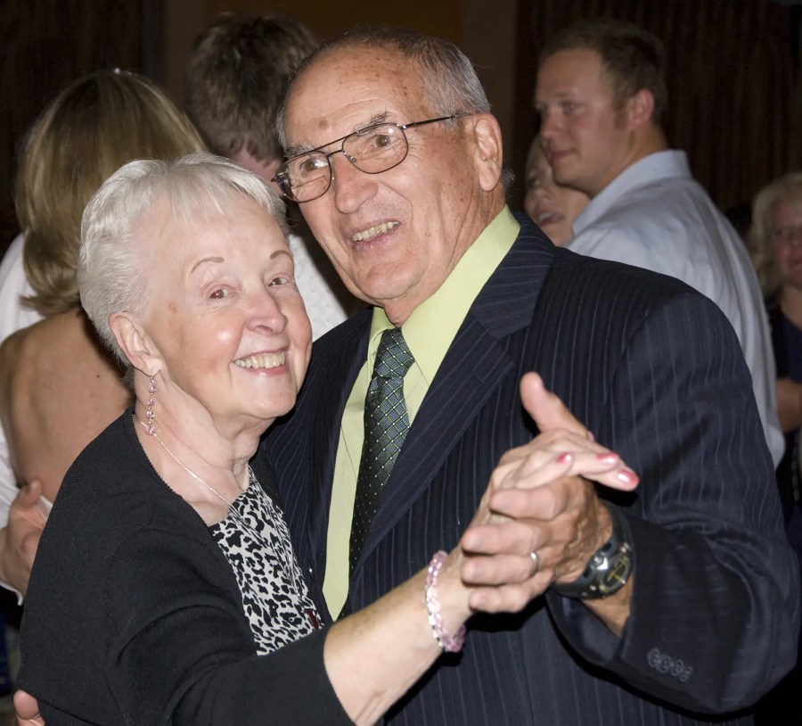 Mom and Dad dancing at my friend's wedding in Ireland, 2010