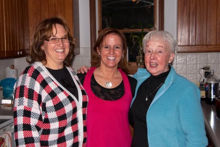 Mom, Kim and Lynne