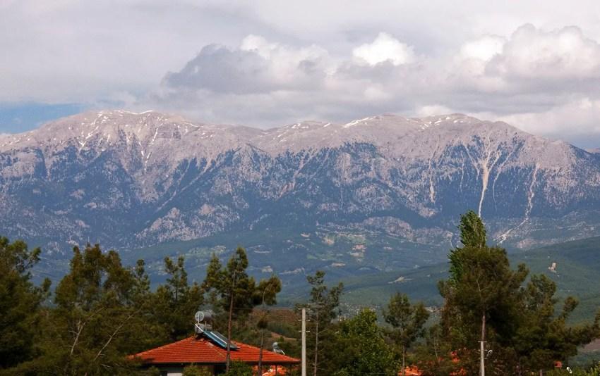 Mountains of Turkey between Bozburun and Patara, near Mediterranean Sea