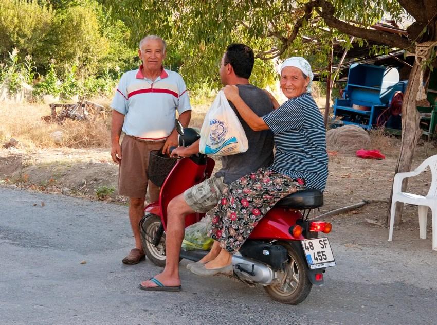 The wonderfully, warm Turkish people