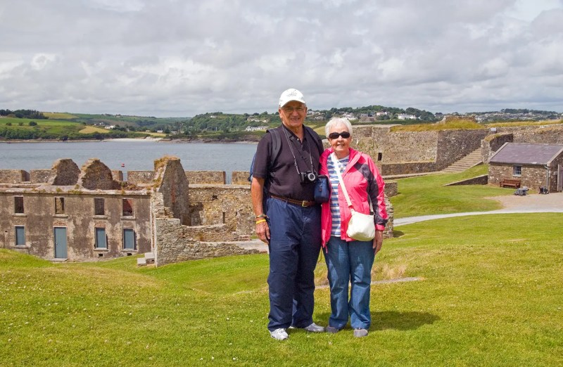 The folks at Charles Fort, Kinsale
