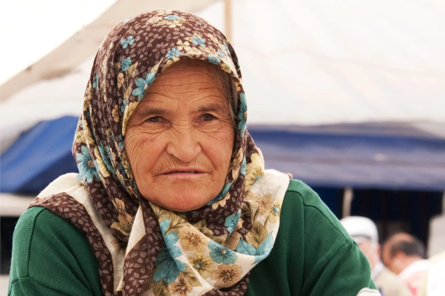 Elderly Turkish woman