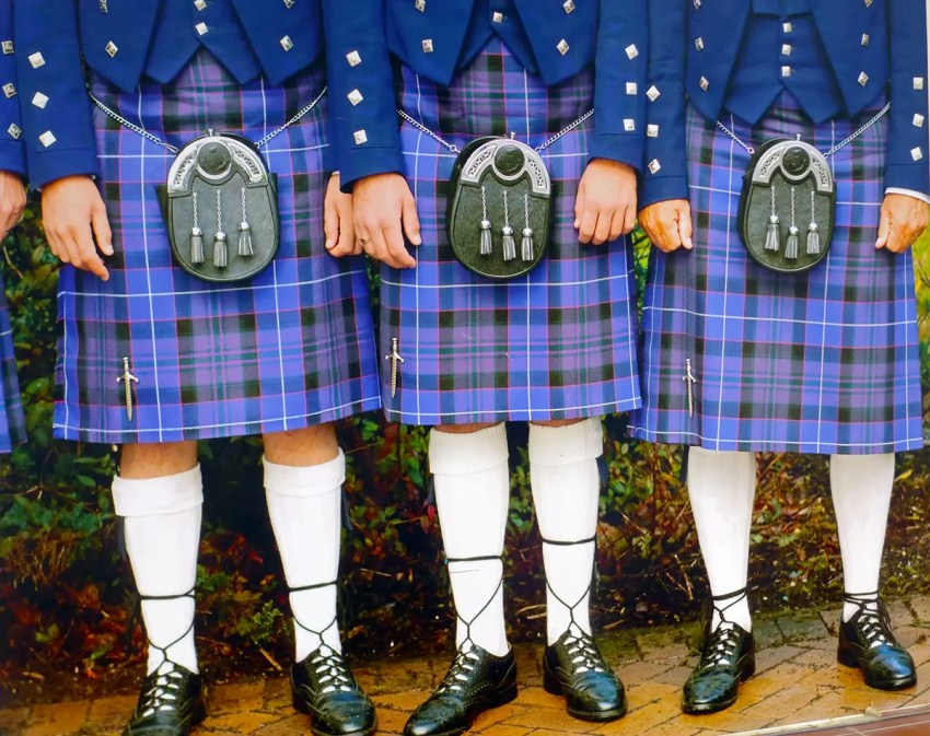 kilts of Scotland