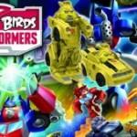 Angry Birds Transformers – новый формат старой игры