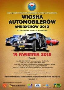 Wiosna Automobilerów - Andrychów, 2012