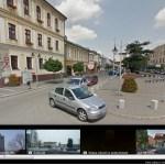 Andrychów, ul. Rynek - widok z Google Street View