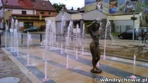 Fontanna na placu Mickiewicza w Andrychowie