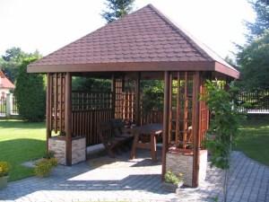 Wyrób altanek i mebli ogrodowych - Andrychów