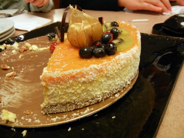 Thomas Haas Passion Fruit Cake