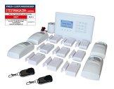GSM Funk-Alarmanlage Set von Multi Kon Trade I Alarmanlage Komplettsystem M2BX SET-4 I Touch Alarmanlage mit Bewegungsmelder, Tür- und Fensterkontakt, Fernbedienung, externe Sirene und App Steuerung - 1