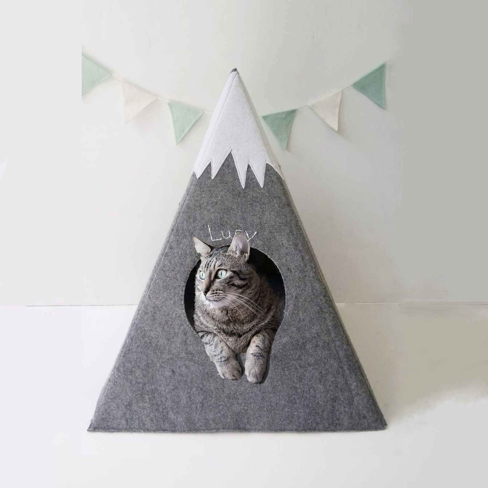 niche chat pyramide