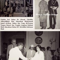 Tengku Raihani Bt Sultan Sir' Ala'uddin Suleiman Shah bergelar Tengku Ampuan Brunei.