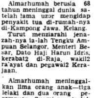 Y.D.M Engku Paduka Shahbandar Selangor - Raja Mahadi bin Raja Sulaiman