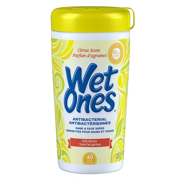 Citrus Scent Wet Ones 1