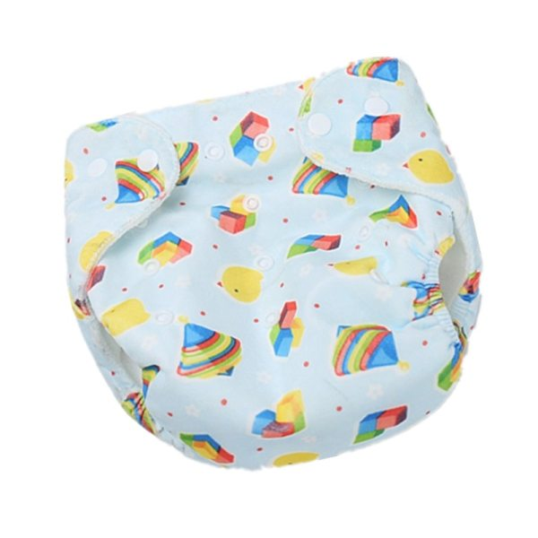 1PC Baby Cloth Diaper Reusable Nappy Baby Newborn Diapers Nappies Pocket Washable Diaper Cover One Size 11