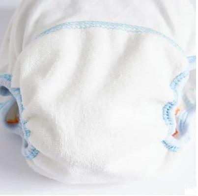 1Pcs Cute Baby Diapers Reusable Nappies Cloth Diaper Washable Infants Children Baby Cotton Training Pants Panties 5