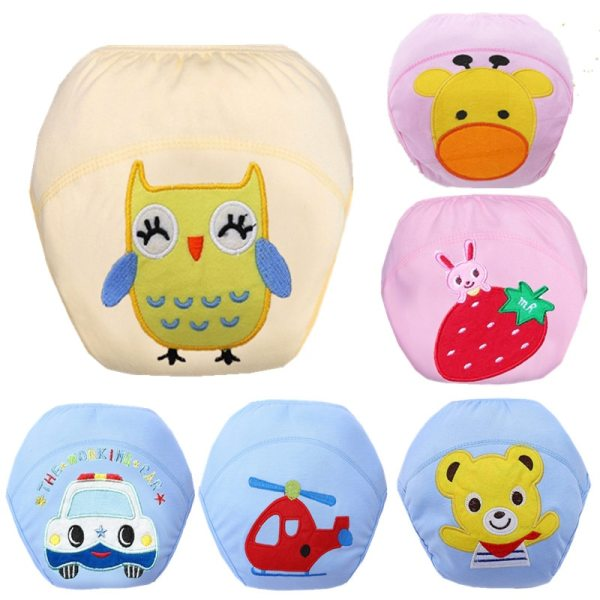 Baby Diapers Reusable Nappies Cloth Diaper Nappy Washable Toddler Girl Boys Baby Waterproof Cotton Potty Training 11