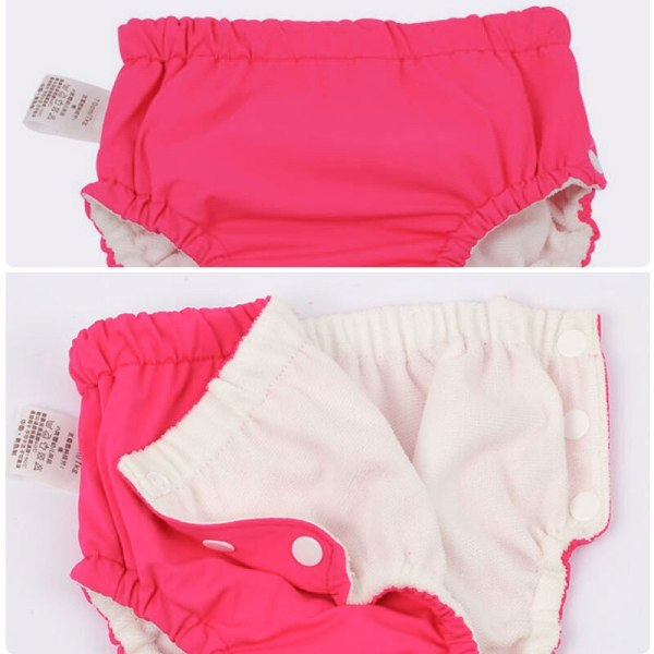 Baby Swim Nappy Diaper Cover Waterproof Swimwear Panties Cloth Nappies Swimming Pool Pants for Infant Toddler 6