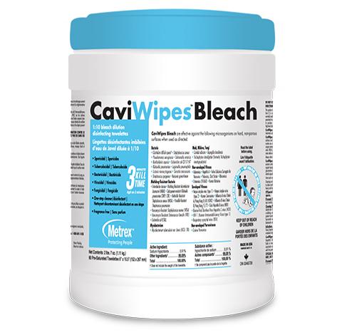 CaviWipes Bleach
