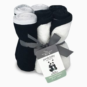 Panda Baby Rayon Viscose Bamboo Baby Washcloths