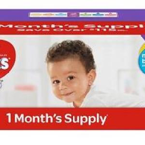 HUGGIES Little Movers Size 3  - 180ct/1pk-50p