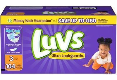 Luvs BIG PACK Size 3 - 104ct/1pk