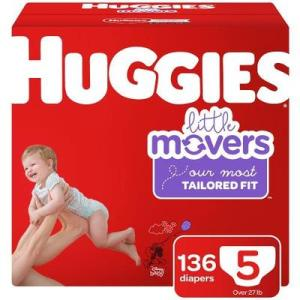 HUGGIES Little Movers Size 5 - 160ct/1pk