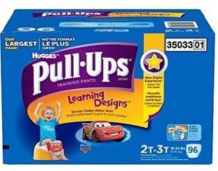 Huggies PULL UPS Boys 2T-3T - 96ct/1pk