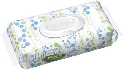 HUGGIES Baby Wipes SOFT Pack Natural Care Original - 56ct/10pk