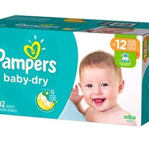 Pampers Baby Dry SUPERPACK size 4 - 92ct/1pk