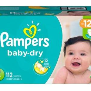 Pampers Baby Dry SUPERPACK size 2 - 112ct/1pk