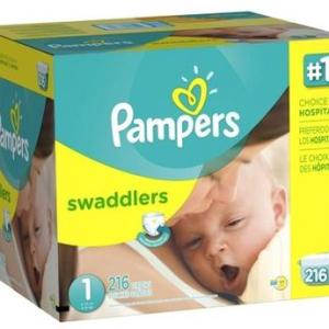 Pampers Swaddlers SENS Econ Size 1 - 174ct/1pk
