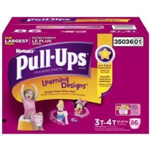 Huggies PULL UPS Boys 3T-4T - 86ct/1pk