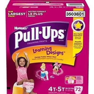 Huggies PULL UPS Girls 4T-5T - 72ct/1pk