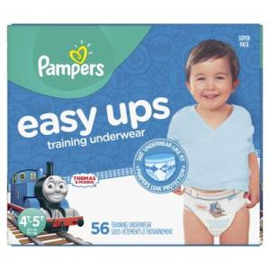 Pampers SUPER BOYS EASY UPS 4T-5T size 6 - 56ct/1pk