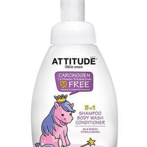 Attitude Little Ones 3in1 Foaming Wash  Wild Berries - 10oz/6pk