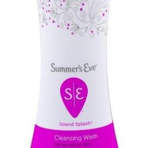 Summer's Eve Cleansing Wash Island Splash -15oz/12pk