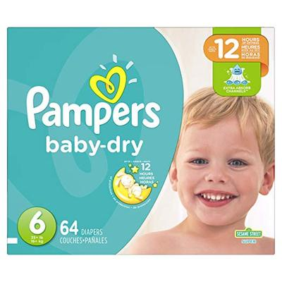 Pampers Baby Dry SUPERPACK size 6 - 64ct/1pk