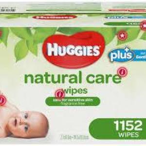 Huggies Natural Care Baby Wipes for Sensitive Skin - 64ct/18pk