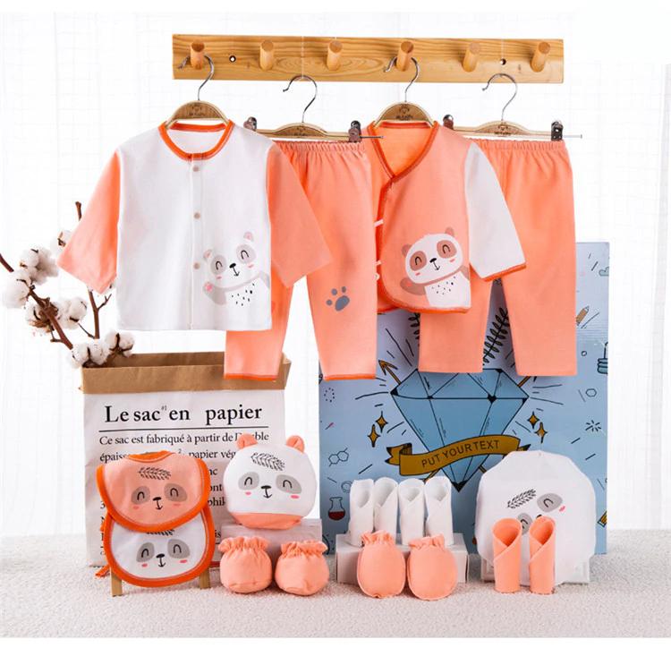 100% Cotton 18 piece/lot Baby clothes