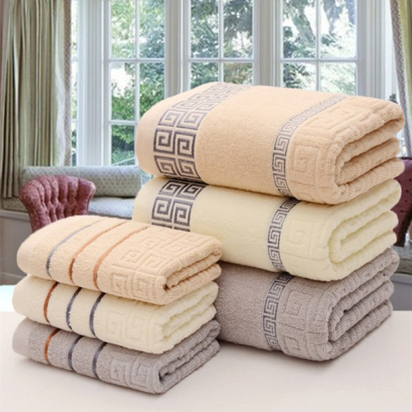 100 cotton thickened absorbent soft skin friendly antibacterial large bath towel adult love hotel shower cool