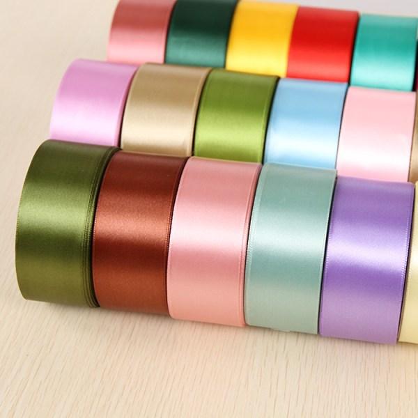 6mm 1cm 1 5cm 2cm 2 5cm 4cm 5cm Satin Ribbons DIY Artificial Silk Roses Crafts