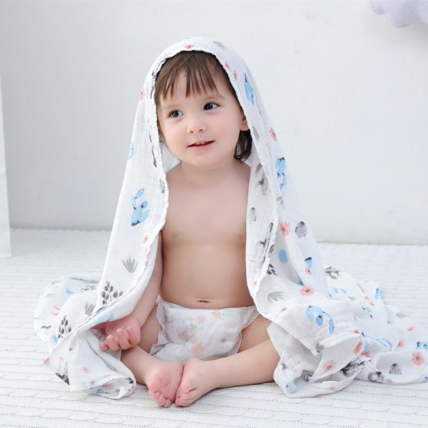 A 70 bamboo baby swaddle baby muslin blanket quality better than Aden Anais Baby Multi use 2