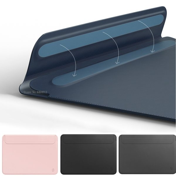 Laptop Bag for MacBook Touch ID Air 13 A1932 Leather Sleeve for MacBook Air Retina Pro