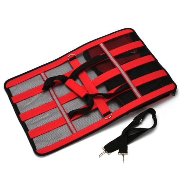 Pets Bag Dual use Foldable Breathable Mesh Cat Bag Dog Bag Outdoor Portable Handbag Breathable Pet 1