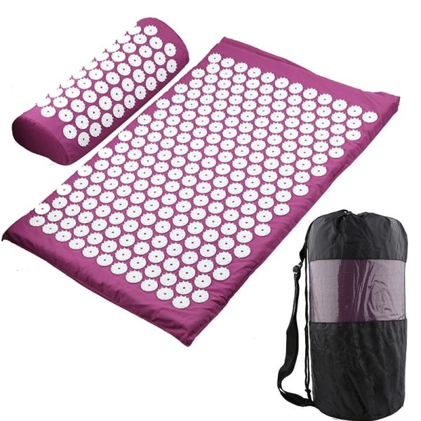Massager Cushion Massage Yoga Mat Acupressure Relieve Stress Back Body Pain Spike Mat Acupuncture Massage Yoga