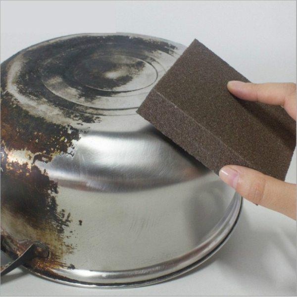 1PCS Sponge Magic Eraser for Removing Rust Cleaning Cotton Kitchen Gadgets Accessories Descaling Clean Rub Pot