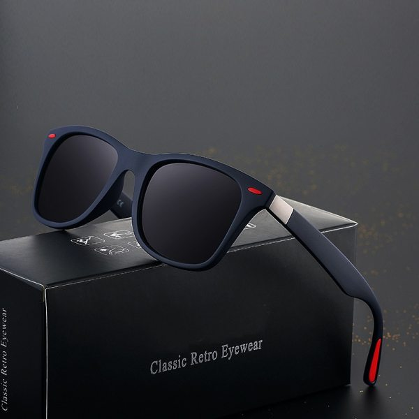 Brand Design Driving Sunglasses New Fashion Men s Glasses Classic Retro Square Ladies Polarizing Sunglasses UV400