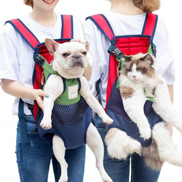 Pet Backpack Pet Carrying Dog Backpack Travel Large Bags Front Chest Holder For Puppy Chihuahua Pet